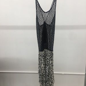Indah Steady Maxi Dress - Leopard